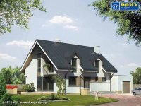 Projekt domu jednorodzinnego Kwarc